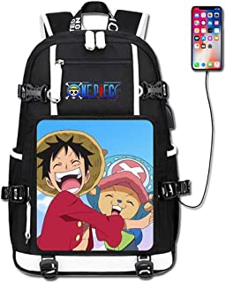 Laptops Backpack with USB Charging//Headphone Port Nami One Piece 2