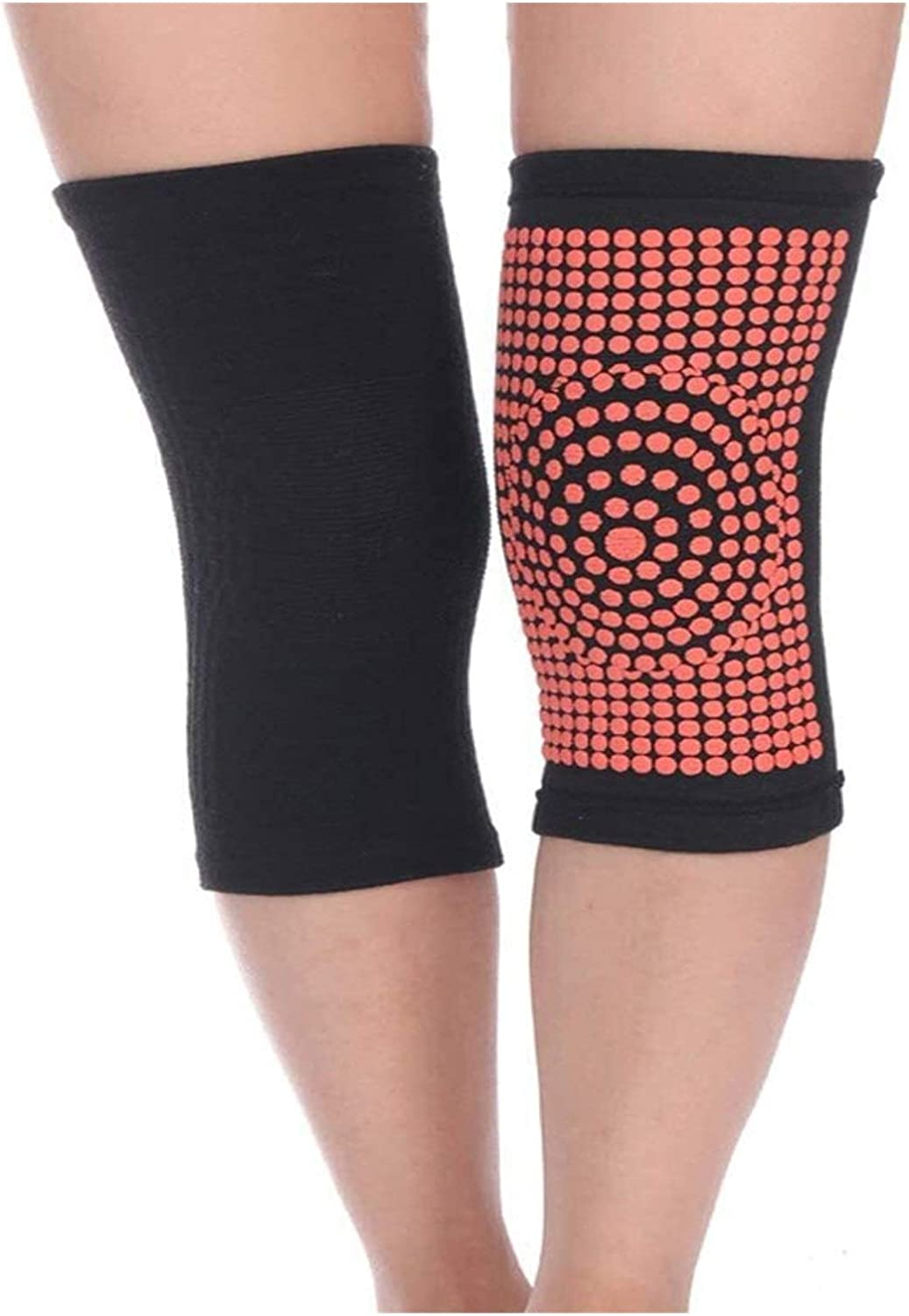 yxx Magnetic Attention brand Self-Heating 5 ☆ popular Knee Pads Knitting Cold Protection He