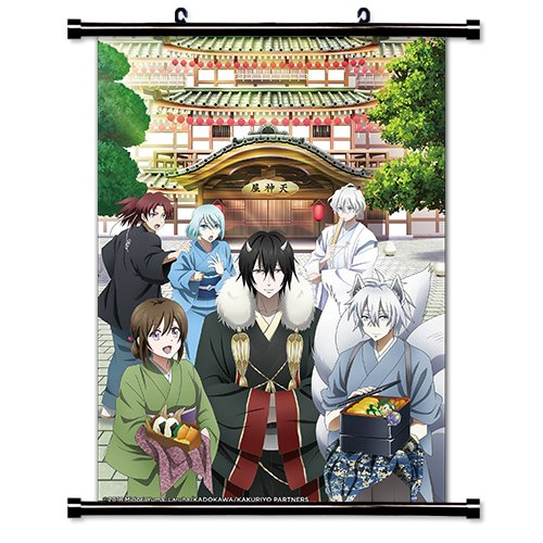 KAKURIYO -Bed & Breakfast for Spirits- Anime Fabric Wall Scroll Poster (16x22) Inches [A] Kakuriyo-6