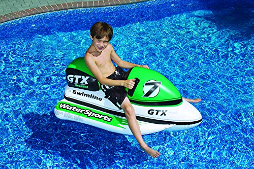 Swimline GTX Wet Ski Inflatable Ride-On 1 White