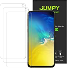[3-Pack] Jumpy for Samsung Galaxy S10e Screen Protector, 9H Hardness Premium Tempered Glass with Lifetime Replacement.