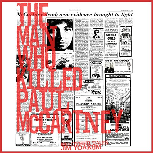 The Man Who Killed Paul McCartney audiobook cover art