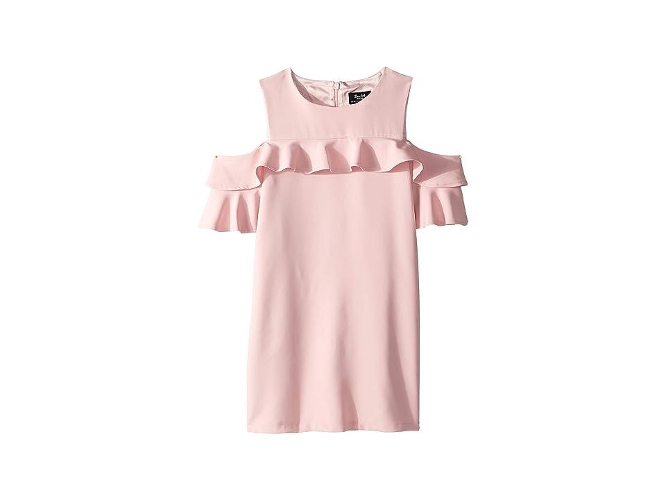 Bardot Junior Tilvie Shift Dress (Big Kids) (Peach Whip) Girl