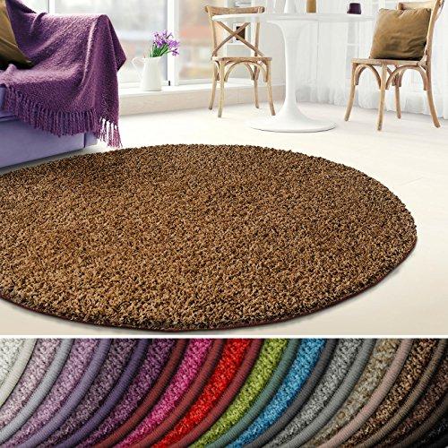 casa pura Shaggy Teppich Barcelona | weicher Hochflor Teppich für Wohnzimmer, Schlafzimmer,...