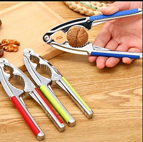 WYFC Biscuit d'écrou en alliage zinc multifonctionnel taille outil noyer pince écrou pince coquille des outils spéciaux (couleurs aléatoires)