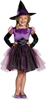 Disguise 83982L Witch Toddler Tutu Costume, Large (4-6x)