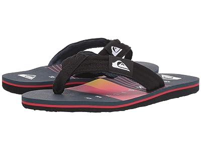 Quiksilver Kids Molokai Layback (Toddler/Little Kid/Big Kid) (Black/Blue/Red 2) Boys Shoes