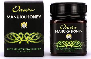 Onuku Premium New Zealand UMF 15+/NON-MGO (250G) Authentic Manuka Honey   100% Pure Mineral Rich Properties Non GMO Unpast...
