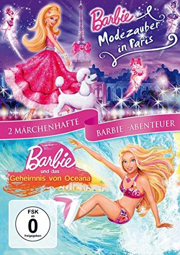 Barbie Doppelpack - Modezauber in Paris & Geheimnis von Oceana [2 DVDs]