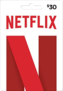 netflix gift card $30 how many months