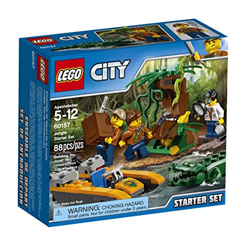 Lego City Dschungel Starter Set 60157 Building Kit (88 Teile)