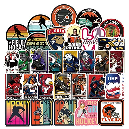FULIFA 100PCS 10/30 / 50 stücke Rugby Sports Serie Cartoon Graffiti Gepäck Laptop Auto Helm Gitarre wasserdichte Aufkleber Spielzeug Großhandel Aufkleber (Color : 10PCS)