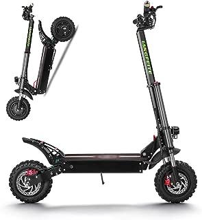 SSCJ Scooter eléctrico 2400W Potencia Alta Vespa Inteligente de Tres Rondas Plegable con 60-70 km de Largo Alcance Recargable Kick Scooters, Velocidad máxima 70 km/h