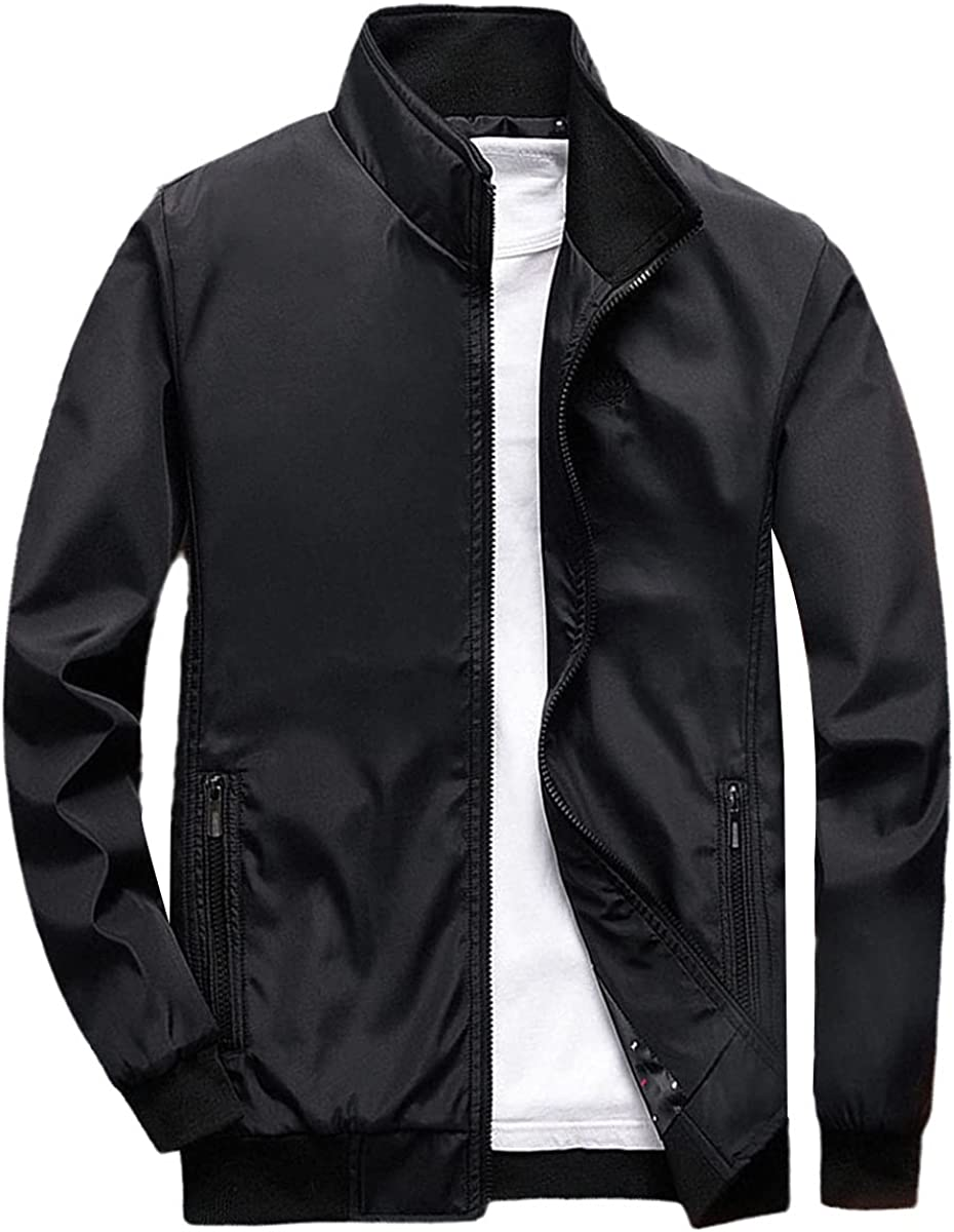 Men's Business Jacket Clothing Outer Clothing Hugh Jacket Bomber Jacket