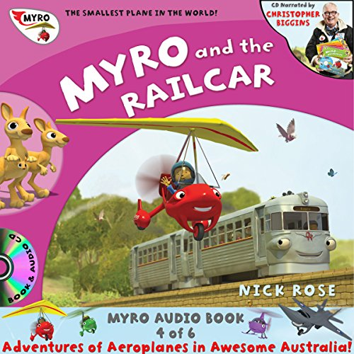 Myro and the Railcar audiobook cover art