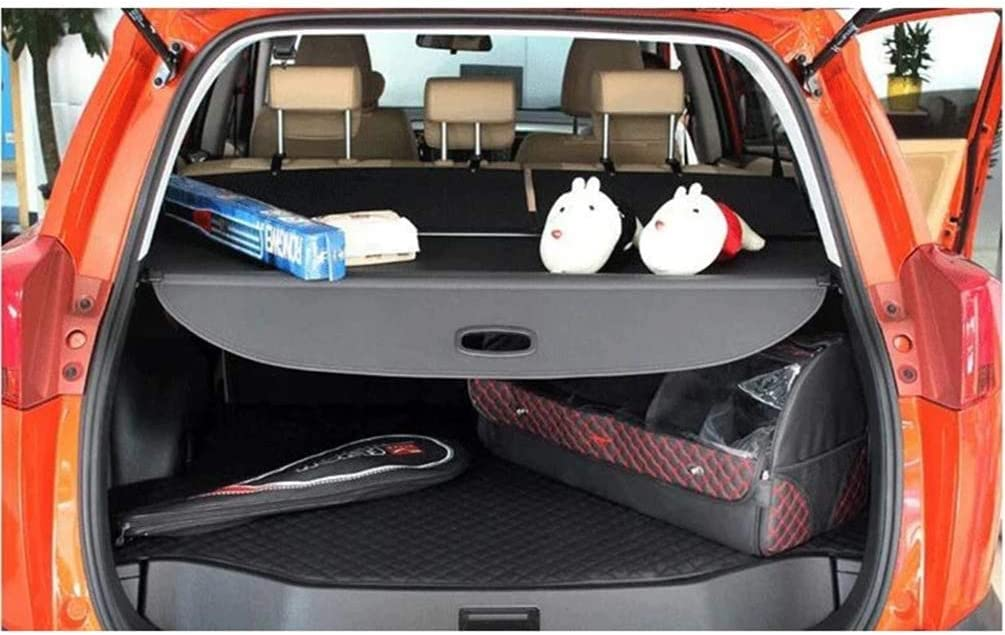 Cargo Blind Cover Paketregal Shade Trunk Liner Screen Fracht Sonnenblende Zubeh/öR MISSLYY Auto Versenkbare Heckkoffer Paketregal f/ür Ford Escape Kuga 2020