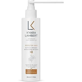 Kyara Lambert - Acelerador capilar con Algas Marinas y Sandalore, 200ml   Tratamiento crecimiento cabello   Booster Hair x2: Amazon.es: Belleza