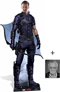 Fan Pack - Hawkeye Captain America: Civil War Lifesize Cardboard Cutout/Standee / Stand Up - Includes 8x10 Star Photo