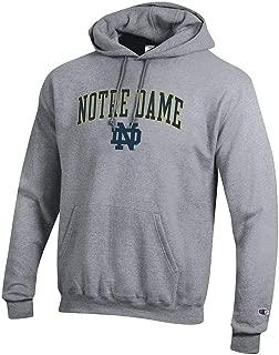 Elite Fan Shop NCAA Men's Hoodie Sweatshirt Oxford Gray