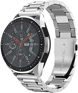 NotoCity Galaxy Watch 46 mm armband 22 mm rostfritt stål klocka för Gear S3 Frontier/S3 Classic, Huawei Watch GT/Huawei Wa...