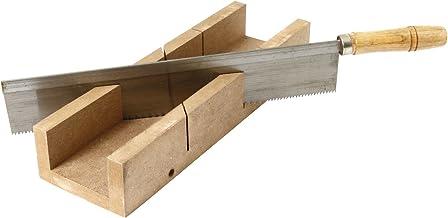 Cogex 39533 - Caja de ingletes y sierra (madera, 300 mm)