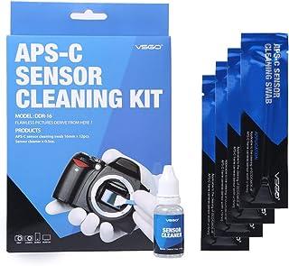 ZINNI-Camera Cleaning - Camera Cleaning Kit Camera Sensor Cleaning Set DDR-16 Sensor Swab Sensor Cleaner Liquid for Digita...