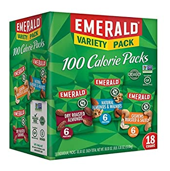 Emerald Nuts 100 Calorie Variety Pack 18 Count