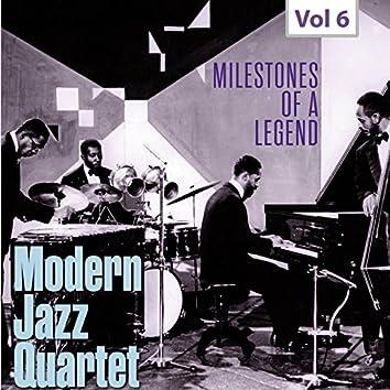 Milestones of a Legend - Modern Jazz Qartet, Vol. 6