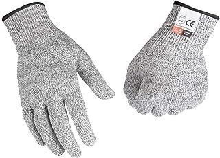 軍手 切れない 防刃 手袋 作業用 工具 耐切創 diy 手袋 料理用 防災用品 安全防護 グレー M