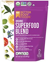 BetterBody Foods Organic Superfood Powder with Protein, Vitamins C, E, and B12 (12.7 oz.)