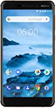 """Nokia 6.1 (2018) - Android 9.0 Pie - 32 GB - Dual SIM Unlocked Smartphone (AT&T/T-Mobile/MetroPCS/Cricket/H2O) - 5.5"""" Scre..."""