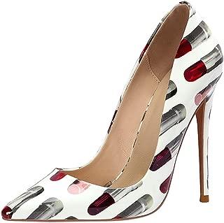 Melady Women Fashion Stiletto Heels Shoes Slip On