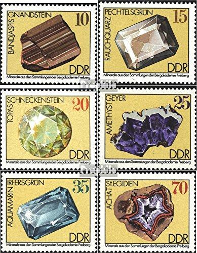 Prophila Collection DDR 2006-2011 (kompl.Ausgabe) 1974 Mineralien (Briefmarken für Sammler) Mineralien / Schmuck