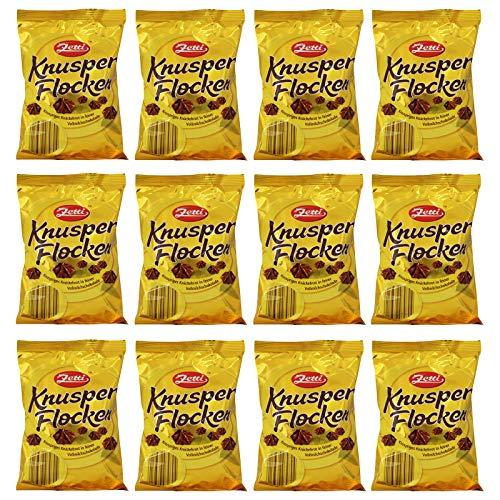 12er Pack Zetti Knusperflocken 12 x 170 g Vollmilch