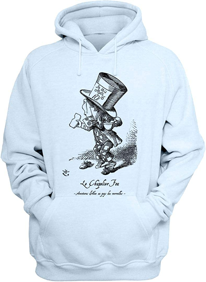 Alice in Wonderland Hoodie Pullover quality Max 77% OFF assurance French Mad