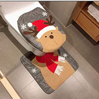 Best bathroom holiday rugs Reviews