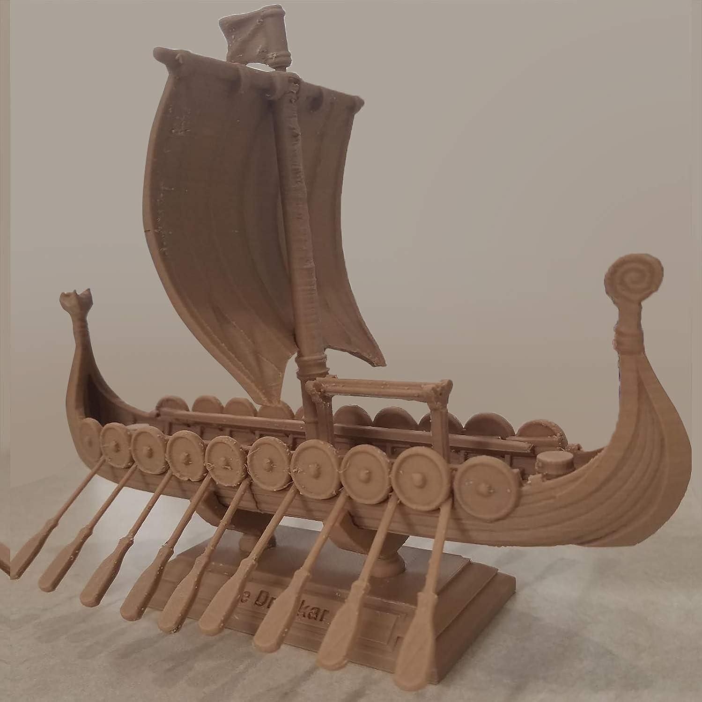 1.75mm AMOLEN PLA 3D Printer Filament Wood Color 1 kg Spool