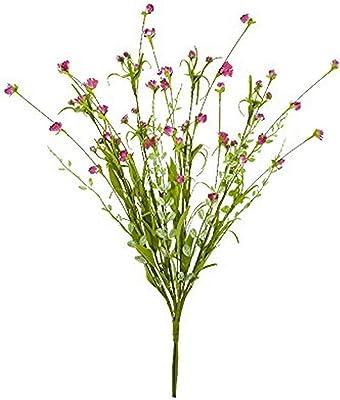 Worth Imports Fall Flower Spray White