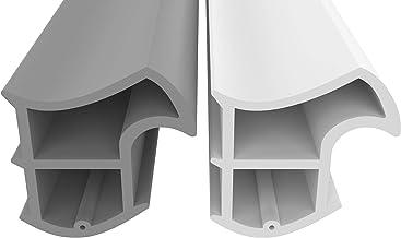 Stalen frame afdichting grijs 5m - tegen tocht lawaai & stof bespaart verwarmingskosten afdichting afdichting afdichting h...