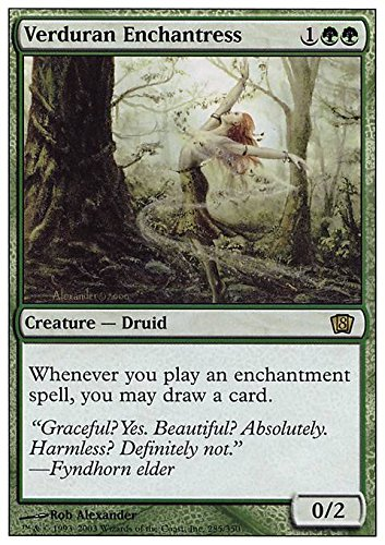 Magic The Gathering - Verduran Enchantress - Eighth Edition