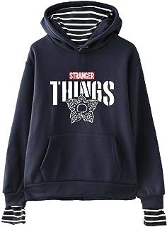 Sudadera Stranger Things Niña, Stranger Things Temporada 3 Impresión Sudadera Unisex Mujer Chicas Niño Stranger Things Sud...