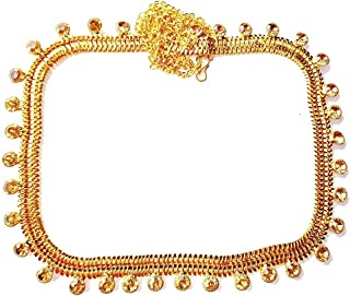 Project Luxe Gold Plated Kamarband for Women and Girls - Waisthip Belt with Golden Stone Work