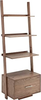 Best convenience concepts american heritage bookshelf ladder with drawer Reviews