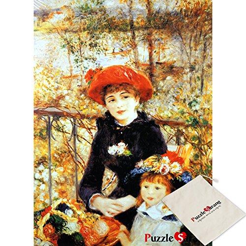 Omega Puzzle Omega due sorelle sul terrazzo - pierre auguste renoir - 500 pezzo di puzzle [Pouch inclusa]