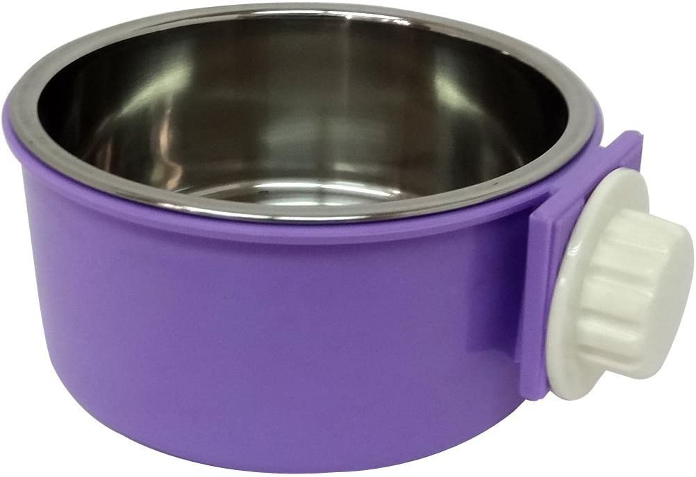 I-Fashion Removable Stainless Steel Hanging Popular product Cat Seattle Mall Bowl Dog Wa