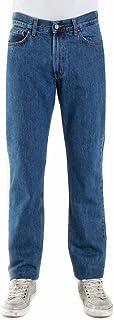 Carrera Jeans Pantaloni Denim 15 oz con Zip