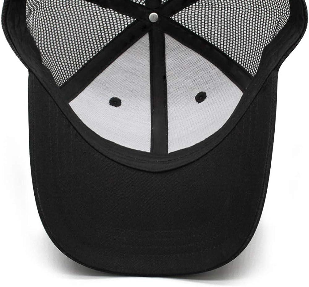 DRTGRHBFG Unisex Women Mans Cotton Baseball Hats Adjustable Mesh Driving Flat Cap