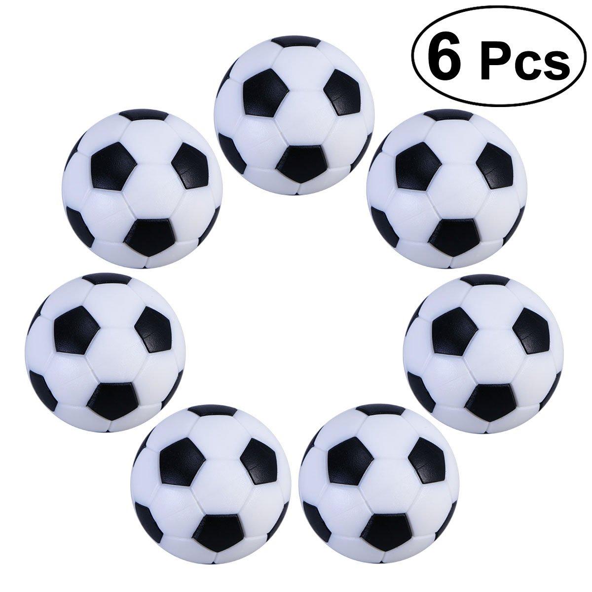 UEETEK - Bolas de futbolín para actividades deportivas de 3,2 cm, 6 unidades: Amazon.es: Jardín