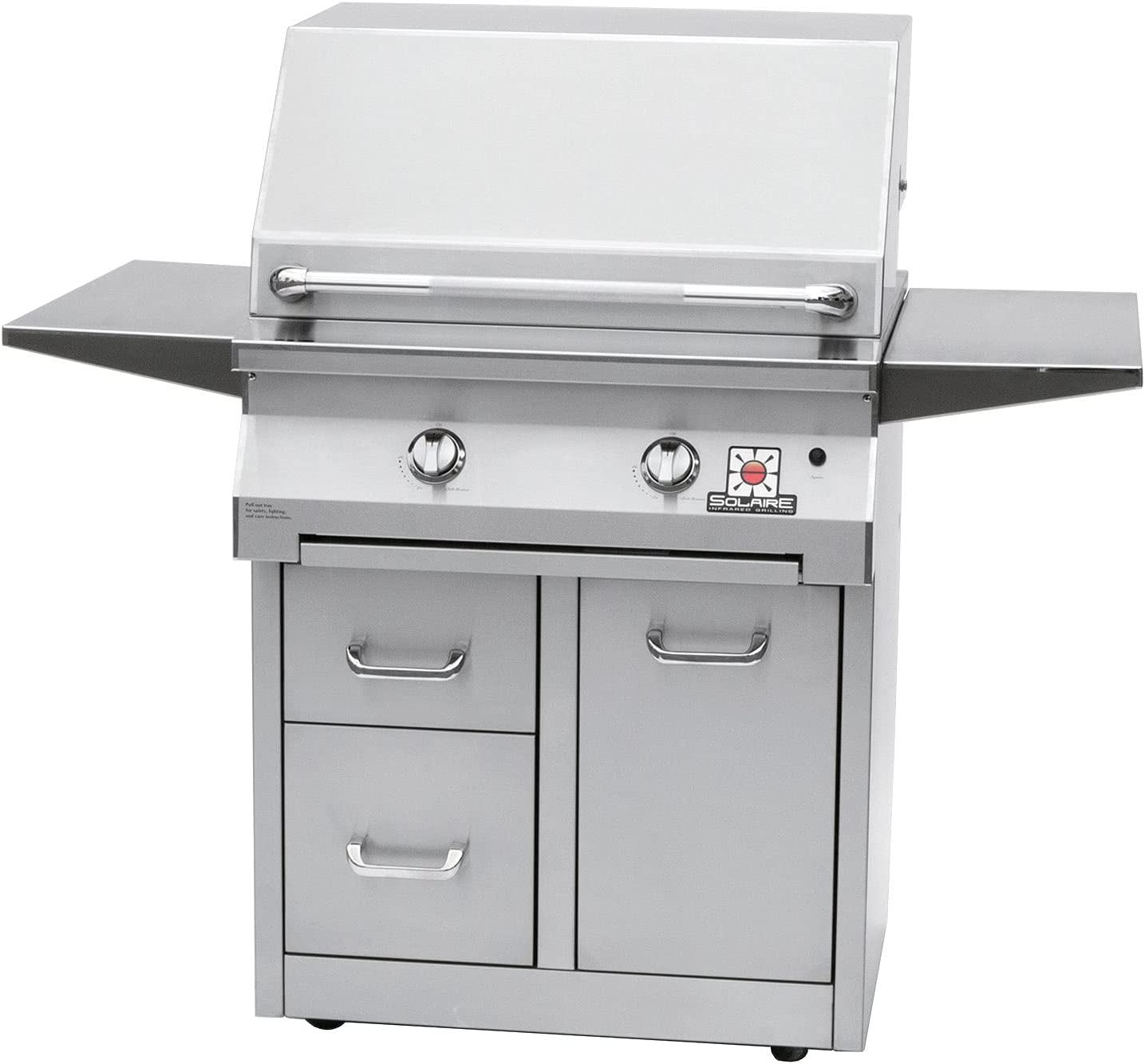 Solaire Convection Gifts Freestanding Premiu Grill Be super welcome SOL-IRBQ-30CX-NG
