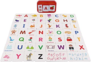 Generic Early Education Preschool Alphabet Matching Picture Flash Cards Baby Gifts